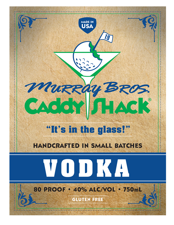 Murray Bros Caddyshack Vodka